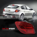 Car Styling for Chevrolet Cruze Tail Lights Cruze Hatch Back LED Tail Light LED Rear Lamp DRL+Brake+Park+Signal