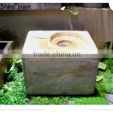mini square indoor garden water fountain decorative stone design chinese water fountain