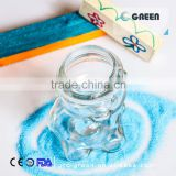 302 ml high quality bear shape glass jar