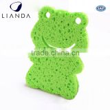 Chinese factory 2016 new cleaning facial compressed cellulose sponges for cleaning Extra Large
