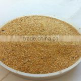 China factory cheap price natural color gold sand