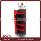 Fashionable best price cardboard rack display, acrylic display stand, metal display stand