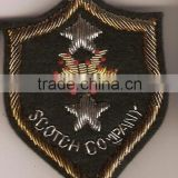 Hand Embroidered Badges , Emblems , Crest , Insignias ,Patches