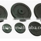 Black Cast Iron Weight Plate