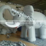 inflatable cartoon elephant model inflatable advertising model, high quality inflatable model elephant for advertising