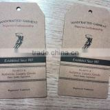 cardboard brown tags clothing labels and hang tags