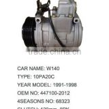 A/C Compressor For MERCEDES-BENZ W140