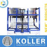 Direct Cooling Block Ice Machine with PLC program system
