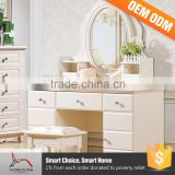 Bedroom Furniture Sets White Oak Vanity Modern Dresser Table With Mirror