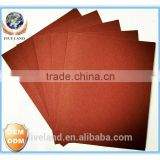 OEM factory aluminium oxide A.O grint craft back sand paper for polishing decoration