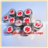 Custom Tire Valve Caps/Car Wheel Tire Valve Caps Logo/Good Qulaity Car Logo Tire Valve Caps