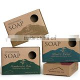 Custom Printed Kraft Cardboard Handmade Paper Soap Box Wholesale