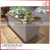 good price fancy modern shop boutique furniture customer service cashier counter designs for sale