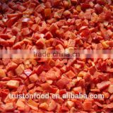 2014 New Crop I.Q.F. Frozen Red Pepper Dice