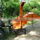 CE certificate PTO driven wood chipper TH-8 with hydraulic feeding rolls for sale, PTO powered