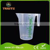 Hot Selling Cheap Custom plastic rice storage container with measuring cup