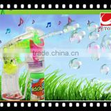 factory supply eco-freindly transparent bubble gun with light