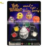 Halloween toys for painting with Light and Sound witch shape