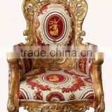 MD-0035-01 Antique furniture single sofa set with cushion