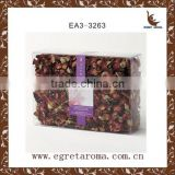 natural dried flower pack in pvc box