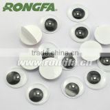 8mm safety high quality plastic large toy eyes