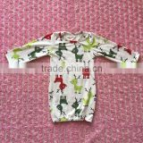 2016 new arrival top quality infant baby romper long sleeve