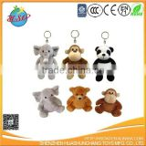 2017 NEW panda plush keychain