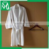 custom logo waffle beauty robe/bathrobe white cheap price