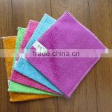 Dishcloth and clean cloth 100% Bamboo Fiber Washing Dish Cleaning Cloth Kitchen Towel customer demands