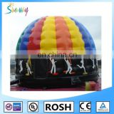 SUNWAY Inflatable Disco Dome Castle high quality inflatable disco dome bouncy castle jumping castle