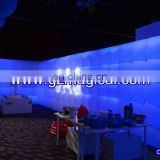 Long Bubble inflatable air wall with LED