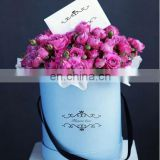 Flower Pretty Design Packaging Round Flower Box For Flower Gift