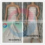 2015 lace fabric/cord with sequin lace/ sequins cord lace