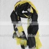 NEW FASHION cashmere grid scarf