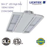 Lightide Slim 2″ CREE LED High Bay Lights, 240W, ETL_CETL_DLC LISTED, 7 yrs Warranty
