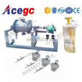 Gold amalgamator and mercury refining machine for pure gold