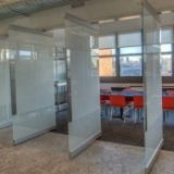 office folding door,hotel movable partition,office operable wall