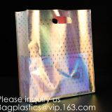 Hologram Clear Bag, Great for Sports Games, Work, Security Travel,Stadium Work Purse Handbags Vinyl Tote Bags Shoulder