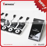 Hot Selling YARMEE VHF Wireless Audio Guide System Transmitter One Way Walkie Talkie with Microphone and Earphone