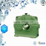 ZDY single stage China gearbox / gear speed reducer with ac servo motor for transmission parts