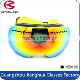 Premium safety sports protective goggles polarized revo coated lens UV protective glasses adjustable elastic strap