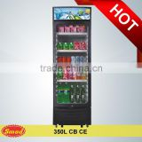 120L- 1000L CB CE store use display refrigerator showcase