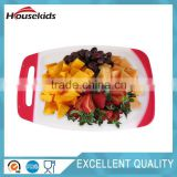 Professional rubber wood chopping board with CE certificate HS-CB007