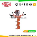 TH-EA6901 52CC gas powered post hole digger for tree transplanting earth auger drill bit