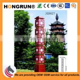 chinese style light landscape light for parks gardens public places university exhibitions