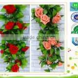 LS-A1 Artificial Flowers (65 pieces flower head and 84 pieces leaves)Bouquets,garlands,loose flowers,leaves,leg for flowers.