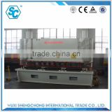 QC11Y-20X3200 hydraulic sheering machine used guillotine cutting machine with carbon steel for sheet metal processing