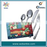 Hot selling PP table mat/placemat