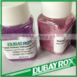 Violet Shinning Rainbow Embossing Glitter Powder for Nail Trade Assurance