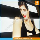 Wide Format PET Backlit Film for Single Side Printing, pvc lightbox film